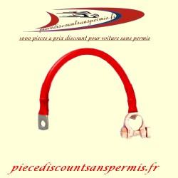 Cable batterie pour voiture longueur 50 cm